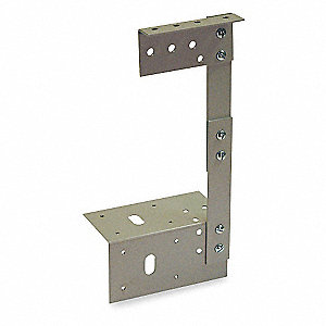 16 Gauge Steel Wireway Bracket Hanger for Wiegmann HS and S Series Wireways