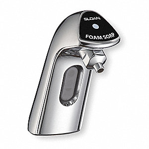 HEALTHMINDER 1000mL Automatic Foam Soap Dispenser, Counter-Mount, Chrome