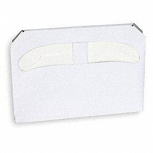 "Toilet Seat Cover, 14-1/4"" x 17-1/8"", Number of Sheets 250, 20 PK"