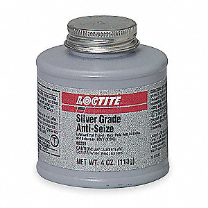 Antiseize Compound, 4 oz. Container Size, 4 oz. Net Weight