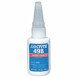 Instant Adhesive,1 oz. Bottle,Clear