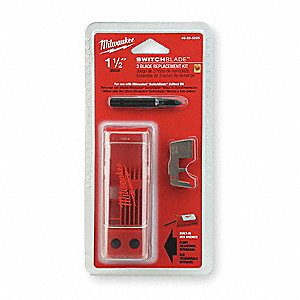 Blade Replacement Kit, For Use With: Milwaukee SwitchBlade™ Self Feed Bits