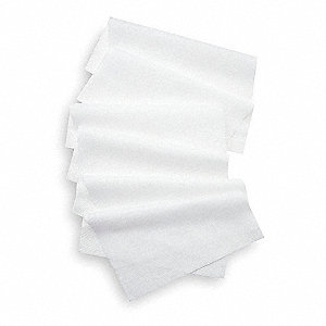 "Spunlace Critical Task Wipes, 100 Ct. 12"" x 15"" Sheets, White"