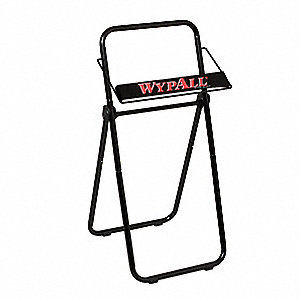 Wiper Dispenser,(1)Roll,Black