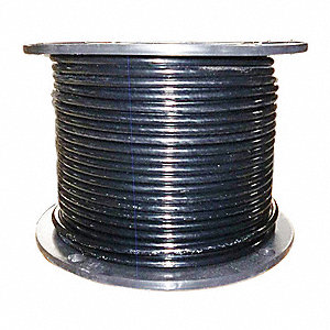 Cable,5/16 In,L25Ft,WLL1960Lb,7x19,Steel