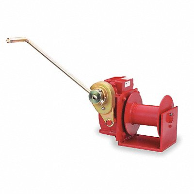 482B Hand Winch Worm Gear w/Brake 4000 lb
