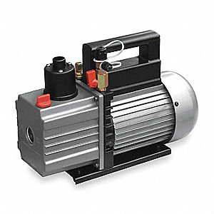 Refrig Evacuation Pump,9.0 cfm,6 ft.