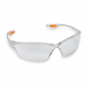 Oxulux  Scratch-Resistant Safety Glasses, Clear Lens Color