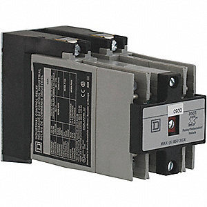 6NO Master NEMA Control Relay, 20A, 120VAC, Panel Mounting