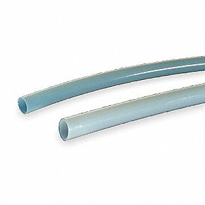 Tubing, 7mm ID, PTFE, Natural, 25 ft