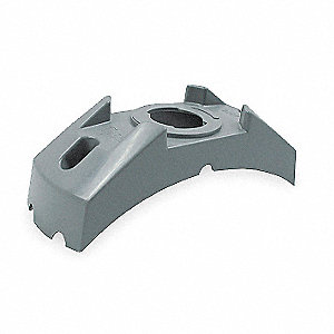 Bracket,Polycarbonate,5 7/8Lx2 3/16W In