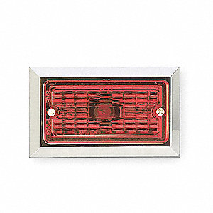 Clearance Marker Lamp,FMVSS P2,Rectangle