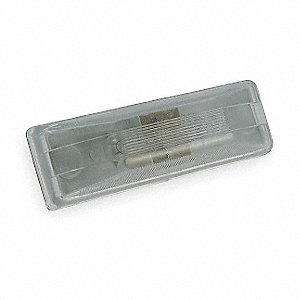 Utility Light,Rectangular,Clear
