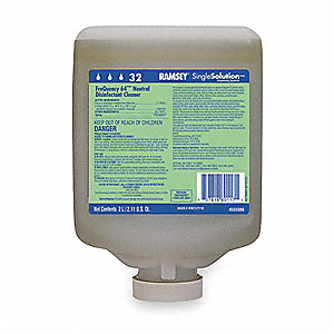 Neutral Disinfecting Cleaner, 1 EA