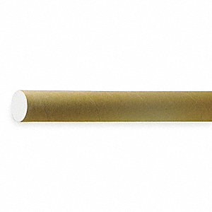 Mailing Tube,Rd,2 In. D,24 In. L,PK25