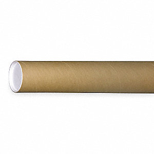 Mailing Tube,Rd,3 In. D,37 In. L, Pk 24
