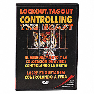 Lockout/Tagout Training DVD,19 min.