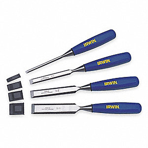 Wood Chisel Set&#x3b; Number of Pieces: 4