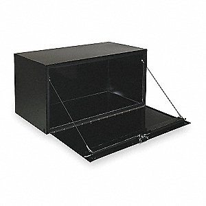 Steel Underbody Truck Box, Black, Single, 5.6 cu. ft.