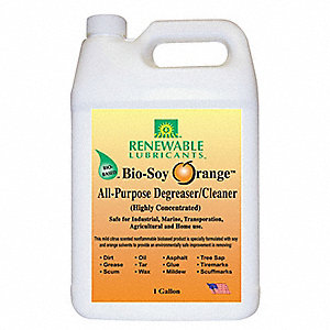 Orange Bio Soy Cleaner Degreaser, 1 gal. Jug