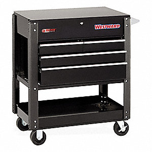 rolling cart with drawers westward black rolling cabinet 44 quot h x 38 3 4 quot w x 21 5 25618