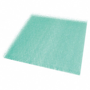 20x20x2, Paint Collector Filter Pad, 15 Grams Fiberglass, Package Quantity 50