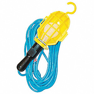 Hand Lamp,Incandescent,75 W,25 Ft Cord