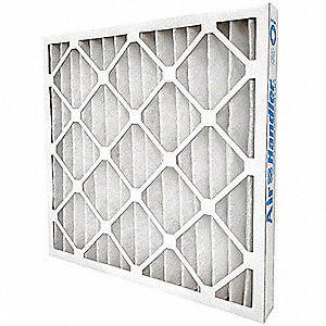 25x25x1, MERV 7, Standard Capacity Pleated Filter, Frame Included: Yes