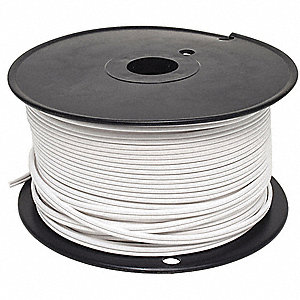 18 AWG Wire Size Lamp Cord, White