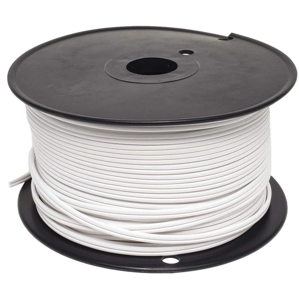 GRAINGER APPROVED Lamp Cord,SPT-1,18 AWG,White - 2W374|E3680 - Grainger