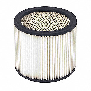 Filter,Dry,Cartridge Filter,Paper,6-1/2""