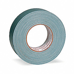"60 yd. x 1-1/2"" Polyethylene Coated Cloth Duct Tape, Silver"
