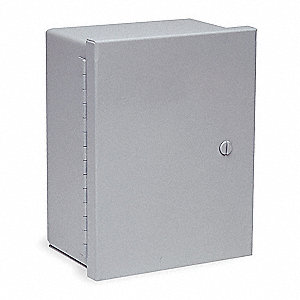 "10.00"" x 10.00"" x 6.00"" Carbon Steel Enclosure"