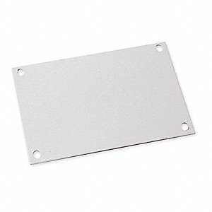 Interior Panel, Carbon Steel, Polyester Powder Finish, For Use With: Steel Enclosures, 1 EA