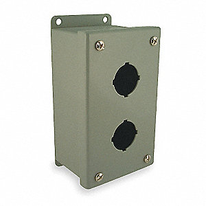 Pushbutton Enclosure, 4, 12, 13 NEMA Rating, Number of Columns: 1