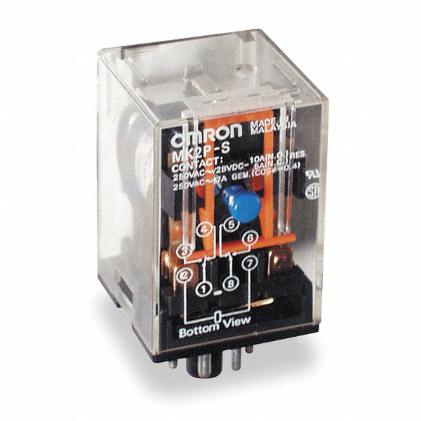 Omron 24vdc 8 Base General Purpose Plug In Relay 5zh93