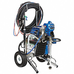 Air-Assisted Airless Paint Sprayer , 7/8 HP, 0.47 gpm Flow Rate, Operating Pressure: 3300 psi