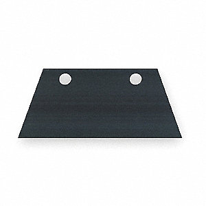 REPLACEMENT SCRAPER BLADE,7 IN,FOR
