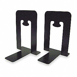 Bookends, Black, Metal