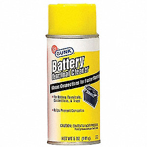 Battery Terminal Cleaner, 5 oz., Aerosol Can
