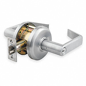 Lever Lockset,Mechanical,Storeroom
