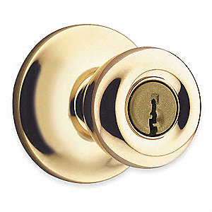 Knob Lockset,Mechanical,Entrance,Grd. 3