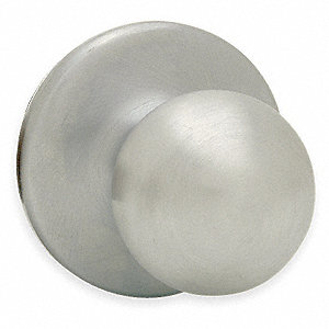 Dummy Knob Lockset, Satin Nickel Finish, Light Duty