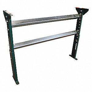 Conveyor H-Stand,19-1/2to31In,22BF