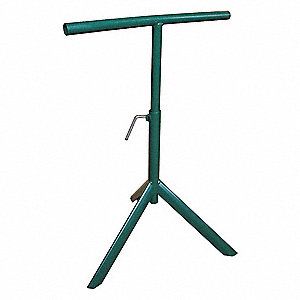 "15-1/2"" T-Bar Conveyor Tripod Stand with 25 to 43 Height Adjustment (In.)"