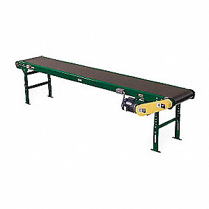 Slider Bed Belt Conv,21 Ft L,34-1/2 In W