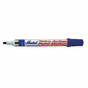 Paint Marker,Valve Action,Blue