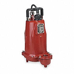 EFFLUENT PUMP,1 1/2HP, 3 PH, 440/48