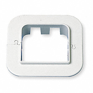 Wall Escutcheon,6-1/2 In. L,5-7/8 In. H