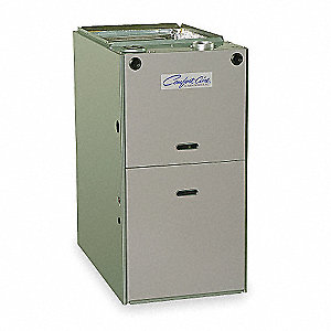 "14"" x 28-13/16"" x 34"" 120 Volt Natural Gas 80% Plus Efficiency Upflow Furnace"